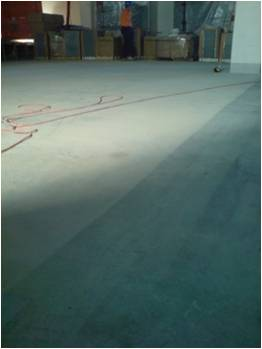 Post construction decontamination for How to clean unsealed concrete floors