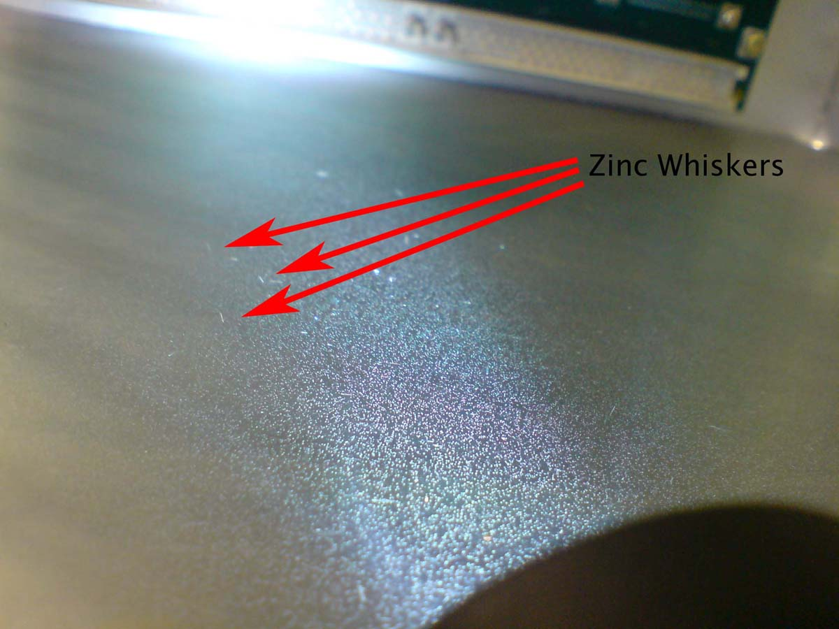 Zinc Whisker Remediation